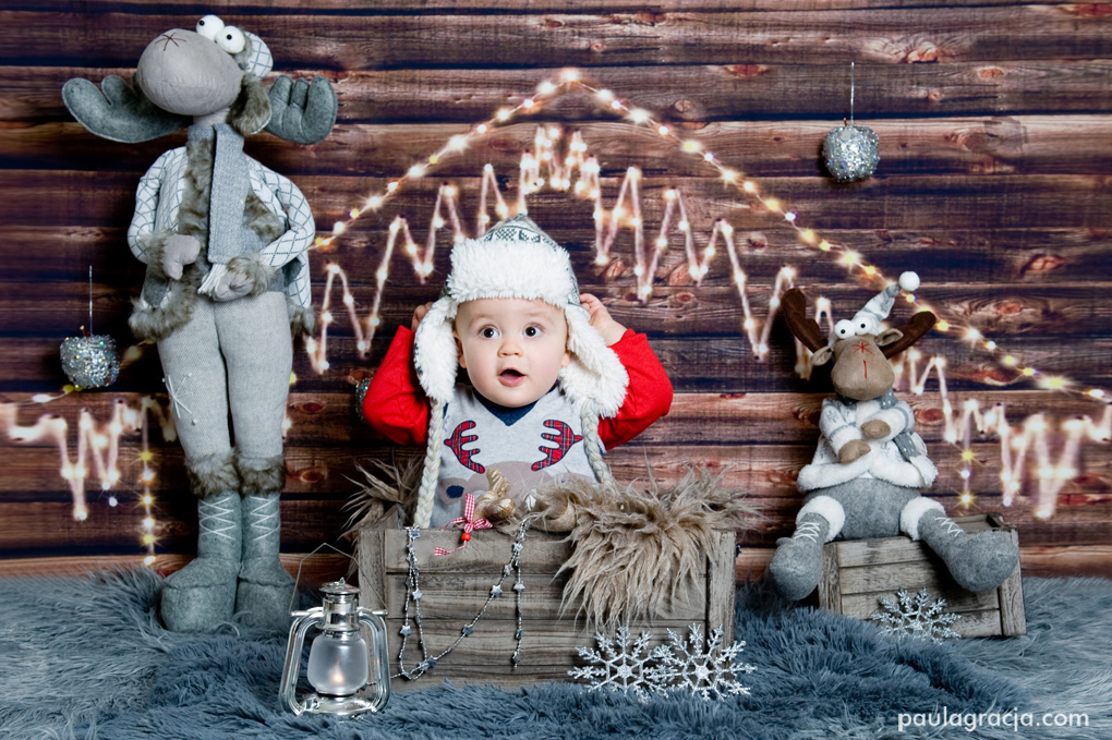 fotogafia dziecięca zima